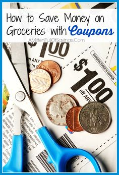 Great tips on how to save money on groceries with coupons!