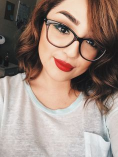 8fafaeae52d  TheBeautyBoard Makeup of the Day  Bold Red by GinaMUA. Upload your look to