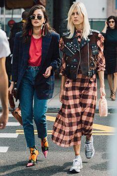 Streetstyle на Неделе моды в Нью-Йорке. Часть 2   Мода   STREETSTYLE   VOGUE