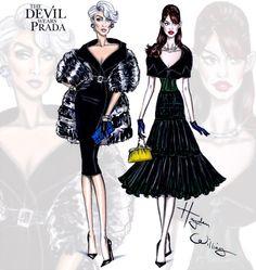 The Devil Wears Prada collection by Hayden Williams: Miranda & Andy