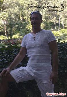 Напоминаю фото маечки, по следам которой сей он-лайн. Фото нашла в свободном доступе в инете, автор Наташа Дорогань. https://vk.com/natashaixora Спасибо мастерице за идею такой красоты для мужчин.