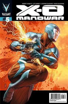 X-O Manowar #5 1:20 variant by Patrick Zircher $16