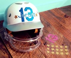 These glitter helmet decals are perfect for softball, hockey, lacrosse, Batting, and hard stickers, We can also customize the shape of your reward stickers.Our helmet number sets are available in many Glitter Colors. We also offer many different mascots for reward stickers >>>...