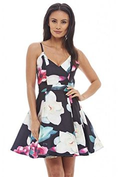 AX Paris Women's Strappy Floral Print Skater Dress(Multic... http://www.amazon.com/dp/B00YQ41LXQ/ref=cm_sw_r_pi_dp_Nd4jxb14JJRRM