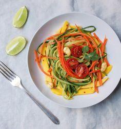 Raw Vegan Fresh Thai Salad