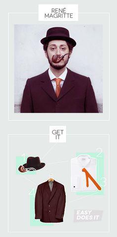 costumes for art lovers: Rene Magritte