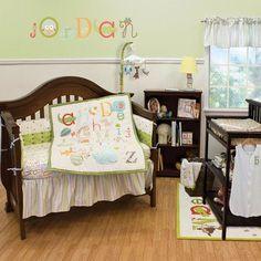 Nurture Imagination My ABCs 4 Piece Crib Bedding Set