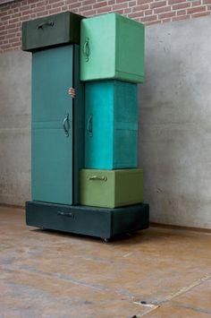 valises-armoire - Designer MAARTEN DE CEULAER