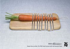"""WMF ~ """"Sharper than you think."""" #Advertising #Ad"""