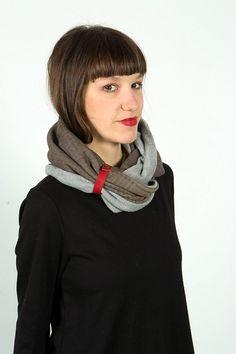 women scarves loop scarf infinity scarf fashion scarf by Gazur