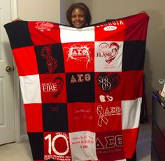University of Georgia Sorority T Shirt Quilt - Project Repat