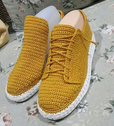 Street wear slippers Multiple Sizes Adults/Men/Women Street shoes - Crocheted Boho shoe - Made to Order - Outdoor Crochet shoes, street wear Crochet Sandals, Crochet Boots, Crochet Slippers, Diy Crochet, Crochet Shoes Pattern, Shoe Pattern, Top 10 Shoes, Creative Shoes, Knit Shoes