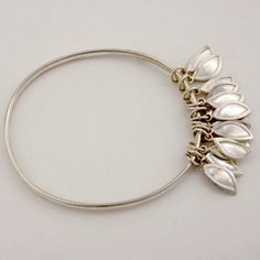 Contemporary silver jewellery by Farah Qureshi - bangle