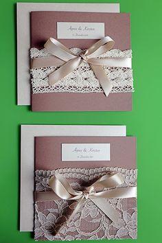 Sachen Die Glücklich Machen: DIY, Selbstgemachte Hochzeitseinladungen  (Vintage,.