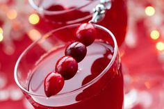 Holiday Cocktail #healthy #recipe