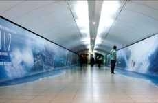 Subway Floodvertising