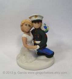 royal marine wedding cake toppers custom royal navy wedding cake topper by gingerbabies 19407
