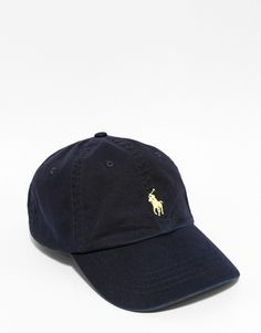 6412e664e931e Cap by Polo Ralph Lauren Canvas twill Domed crown with eyelets Embroidered  branding Curved peak Adjustable strap fastening Hand wash Cotton