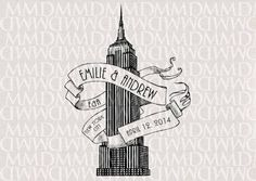 Image result for tattoos of the empire state building
