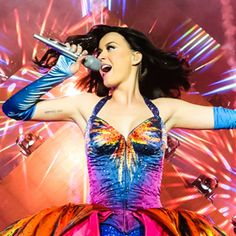 Katy Perry's Tour Outfits Include Rainbow Couture and a Stunning Skintight Catsuit  #InStyle