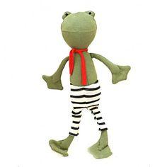 Hazel Village Handmade Stuffed Animals - Lewis Toad | EndeavourToys - Toys & Hobbies on ArtFire