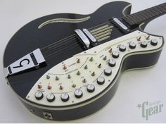"""Chambered Guitar Custom - the most advanced guitar on board FX and Pick Up System.  B Band """"Eater""""....The Lambo of all hybrid guitars."""