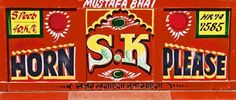 Image result for back of an indian truck
