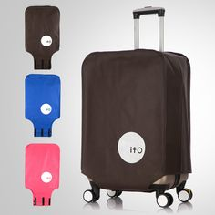 Anti-Dust & Anti-Scratch Travel Luggage Protective Cover