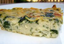 Gluten-Free Passover Spinach Noodle Kugel