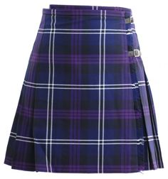 Use this as a pattern for my Burberry Nova check kilt skirt. Pleats through the back, apron at the front, 2 belt buckle clasps, raw edge fringe on the upper front flap.
