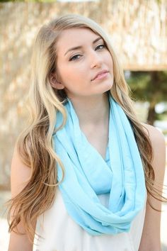 Solid Jersey Infinity Scarf (Several Colors)
