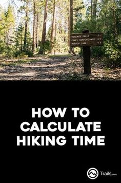 For casual hikers--particularly day hikers trying to fit in a quick hike in the wilderness--knowing how long a hike will take is of utmost importance. Many times a hiking trail will list its mileage but not an estimated time to complete it, leaving hikers to guess or, worse, set off hoping they'll make it back before the rain or sunset hits. No matter where or how you hike, there are certain variables you can consider when trying to mathematically estimate how long it will take. | How to…