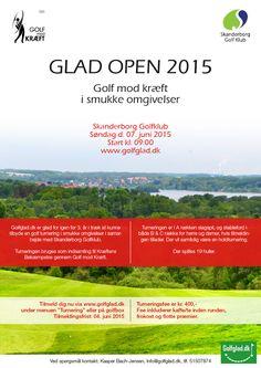 GLAD OPEN 2015 7/6 i Skanderborg. Indsamling til kræftens bekæmpelse.
