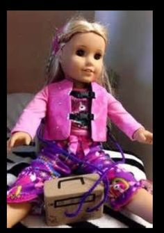 Cystic Fibrosis vest American Girl Doll