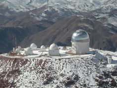 1970 Cerro Tololo, in Chile, South America,  a - National Optical Astronomy Observatory.  A 'sister' telescope to one at Kit Peak, AZ.