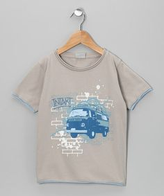 Stone VW Bus Tee by iNTAKT