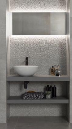 Washroom Design, Bathroom Design Luxury, Modern Bathroom Design, Modern Toilet Design, Small Toilet Design, Modern Design, Home Room Design, Home Interior Design, Interior Modern
