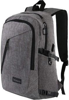 d9d74a5d3d9c New Mancro Laptop Backpack