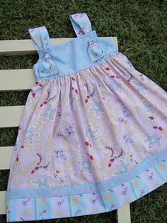Pink Cotton Candy Knot Dresssize 4  5 by gumdroptree on Etsy, $30.00