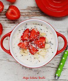 Owsianka jest jednym z moich ulubionych śniadań. Jest sycąca i bardzo łatwa w przygotowaniu. Jej bazę stanowią płatki owsiane i mleko (...