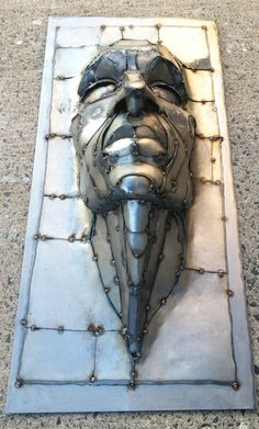 Wisdom  metal art sculpture $1200 16 x 36 x9 created by Joel Sullivan Irondesigns@live.ca