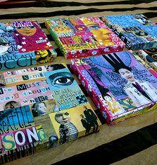 Magazine Collage, Magazine Art, Paper Collage Art, Paper Art, High School Art Projects, 8th Grade Art, Magazine Crafts, Collaborative Art, Recycled Art