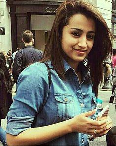 Trisha Indian Celebrities, Beautiful Celebrities, Beautiful Women, Indian Attire, Indian Outfits, Trisha Actress, Trisha Photos, Minka Kelly, Fashion Idol