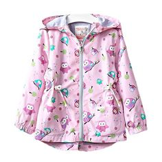 Cheap kids outerwear, Buy Quality girls fashion jacket directly from China girls jacket Suppliers: 2017 New Spring Baby Girl Coat Animal Owl Fashion Hooded Zipper Girl Jacket Pink Lolita Full Sleeve Kids Outerwear Baby Girl Fall Outfits, Kids Outfits, Little Baby Girl, Baby Girls, Toddler Girls, Kids Girls, Baby Girl Jackets, Lolita, Summer Dresses