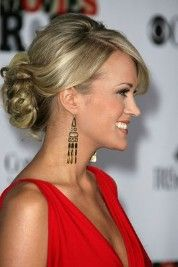 carrie underwood- new wedding hair icon?