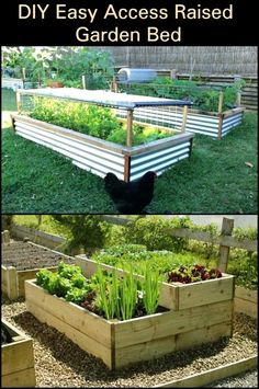 garden care tips Raised garden beds are good for your back. You can take care of your garden without worrying about your back. Learn how to make one here. Building A Raised Garden, Raised Garden Beds, Potager Palettes, Outside Plants, Vegetable Garden Tips, Diy Garden Projects, Garden Signs, Garden Care, Growing Vegetables
