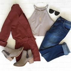 www.DaintyHooligan.com Outfits Otoño, School Outfits, Fashion Outfits, Autumn Inspiration, Style Inspiration, Dream Closets, What To Wear, Outfit Ideas, Women's Fashion