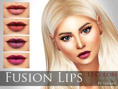 Sims 4 CC's - The Best: Lipstick, Clothing & Tattoos by Taraab