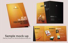 Create Brochure Mockups in Photoshop