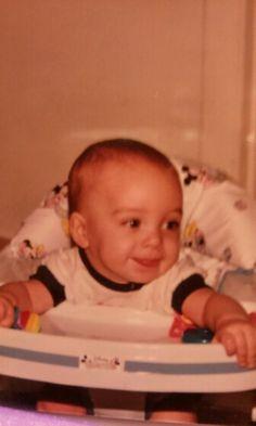 Baby Joshua...love the tongue :)